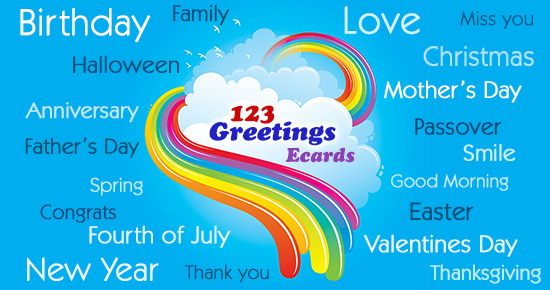 123 greetings free greeting cards
