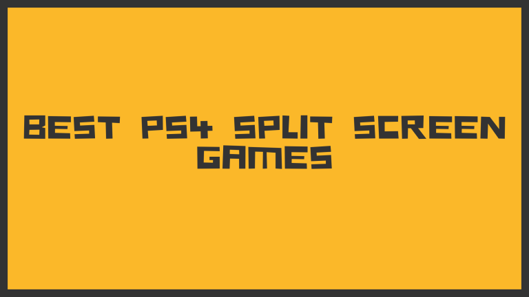 PS4 Split Screen Games